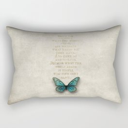 Butterfly beauty Rectangular Pillow