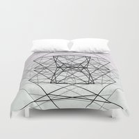 code Duvet Covers featuring Code by Dood_L