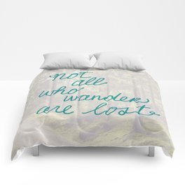 Time to Wander Comforters