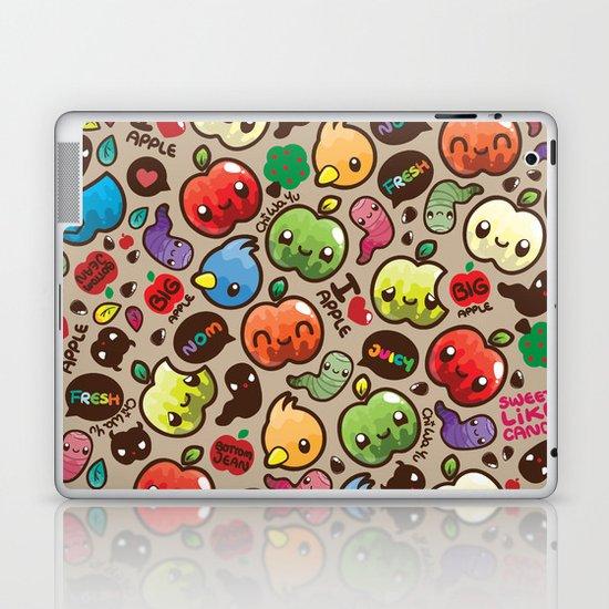 Apple Pattern Laptop & iPad Skin