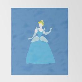 Cinderella Disney Princess Throw Blanket