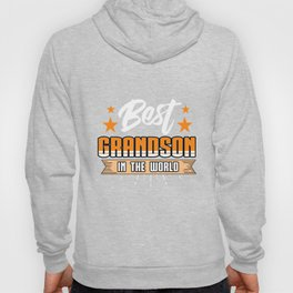Family Love Bloodline Household Clan Relationship Birth Best Grandson In The World Gift Hoody