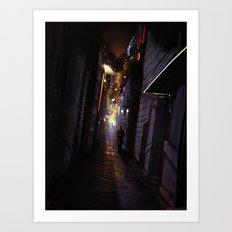 Kipple City Art Print