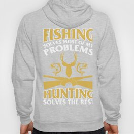 T-Shirt For Fishing And Hunting Lover. Hoody