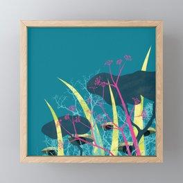 la foresta di circe Framed Mini Art Print