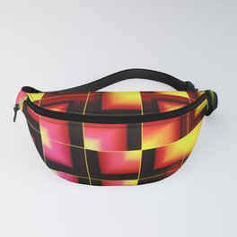 Colorful geometric abstract Fanny Pack