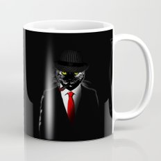 Mobster Cat Mug