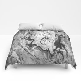 Grayscale Pour 814 Comforters