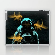 astronauts and goldfish Laptop & iPad Skin