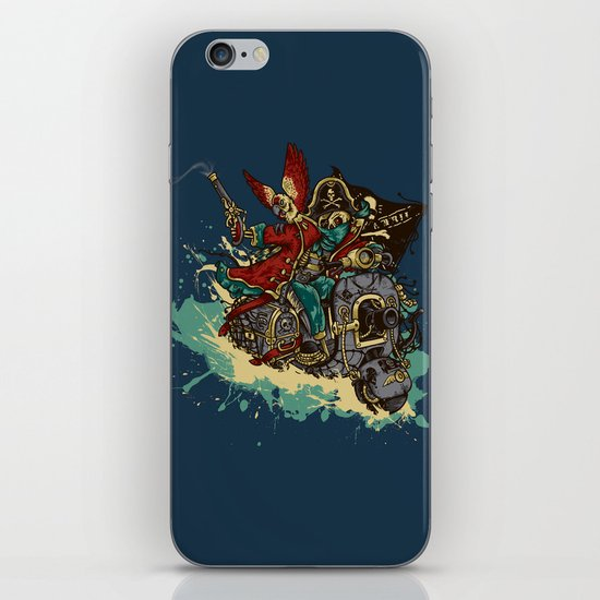 Sea Traveler iPhone & iPod Skin