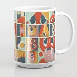 Cute Monsters Poster Coffee Mug