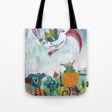 Bird of Possibility Tote Bag