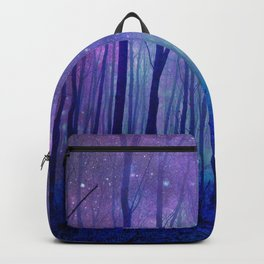 Fantasy Path Purple Blue Backpack