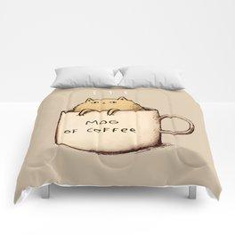 Mog of Coffee Comforters