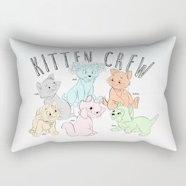 Kitten Crew Rectangular Pillow