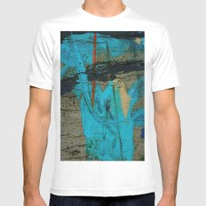 Swath MEDIUM White Mens Fitted Tee