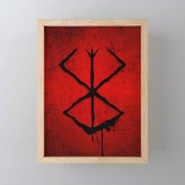 The Berserk Addiction Framed Mini Art Print