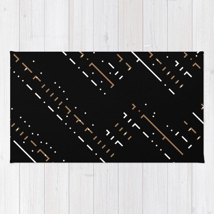 Artis 2.0, No.5 in Black & Gold Rug
