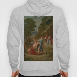 "Eugène Delacroix ""Spring from a series of the Four Seasons (Orpheus and Eurydice)"" Hoody"