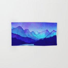 Cerulean Blue Mountains Hand & Bath Towel