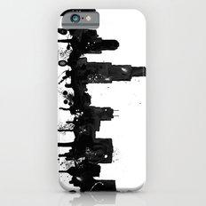 Watercolor Chicago Skyline Slim Case iPhone 6