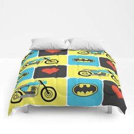 The Bike & The Bat Comforters