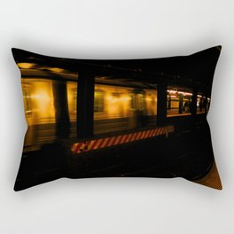 Subway Tunnel Rectangular Pillow