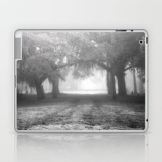 Foggy Evergreen Laptop & iPad Skin