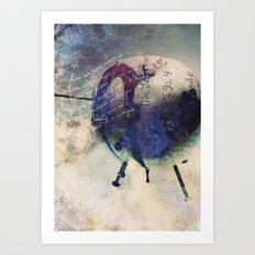 Rotten Apple Art Print