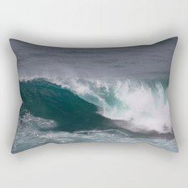 Wave, Hello Rectangular Pillow