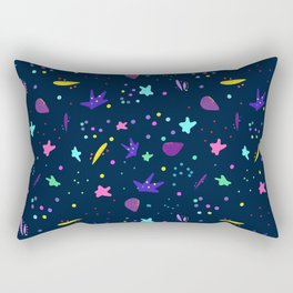 Whimsy Pattern for Fun People Rectangular Pillow