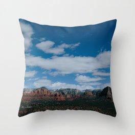Sedona Views Throw Pillow
