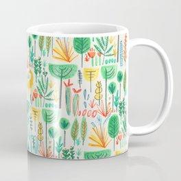 Jungle life with golden unicorn Coffee Mug
