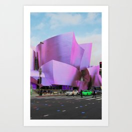 Electric Concert Hall Architecture Art Print