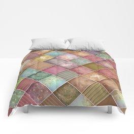 Diamond Shape Christmas Pattern 2 Comforters