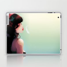 La Cantatrice en greve... Laptop & iPad Skin