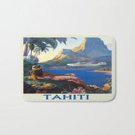 Vintage poster - Tahiti Bath Mat