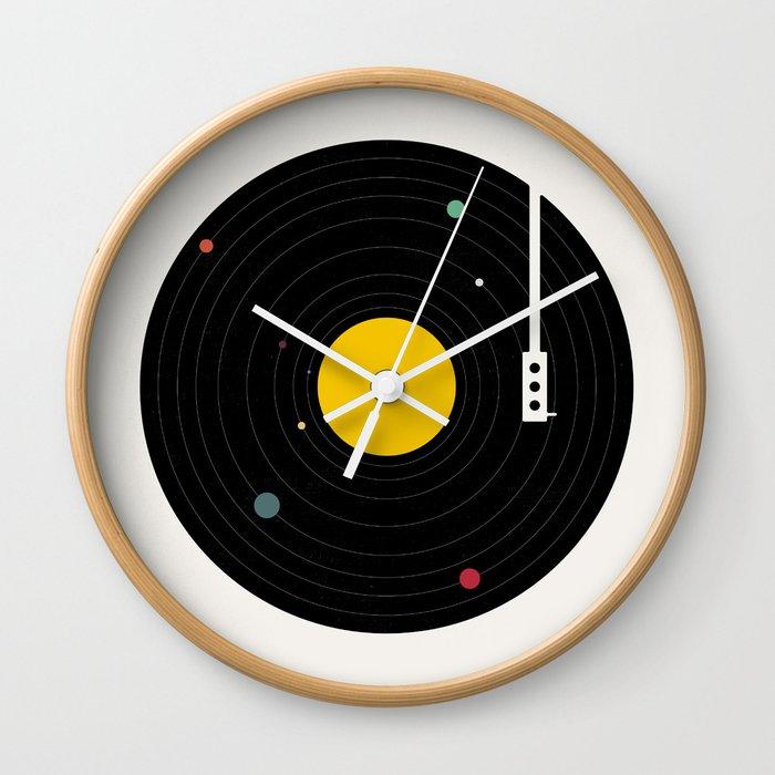 Music, Everywhere Wall Clock