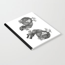 Mr and Mrs Dodo | Black and White Notebook