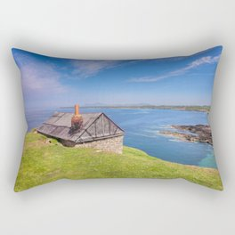 Fisherman`s Hut Rectangular Pillow