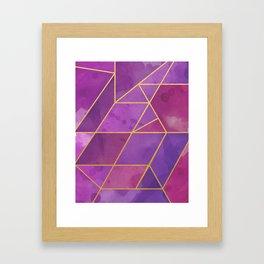 Shattered Tourmaline 2 Framed Art Print