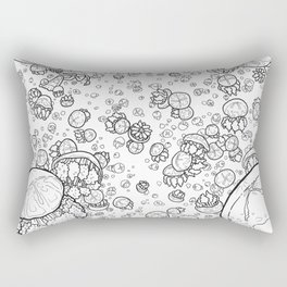 Jellyfish Dreams Rectangular Pillow