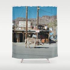 Jackass Junction Shower Curtain