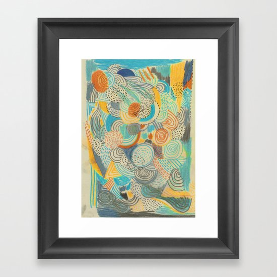 Wide awake Framed Art Print