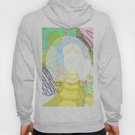Fairy landscape with bubbles Hoody