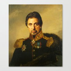 Al Pacino -replaceface Canvas Print