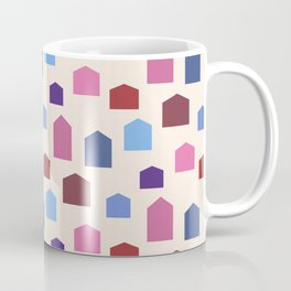 House Pattern Coffee Mug