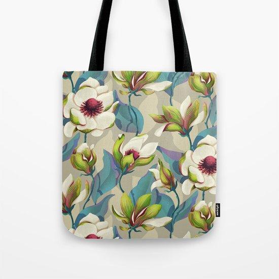 magnolia bloom - vivid version Tote Bag