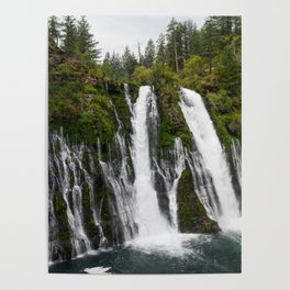 The Plunge (McArthur-Burney Falls) Poster