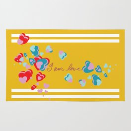 I am Love - Valentine's Day #2 Rug
